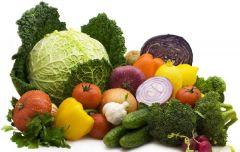 Едим овощи!