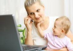 Работающие «мамаши» дают фору домохозяйкам
