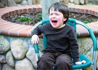 С какого момента приступы истерики у детей служат предметом для беспокойства