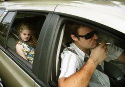 Если пассажиры – дети, курение недопустимо