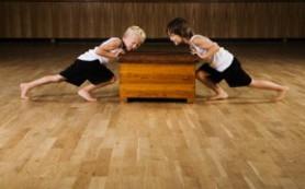 Силовые тренировки для самых маленьких