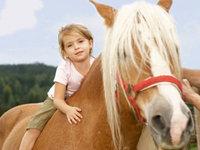 Лошади помогут больным детям Киева