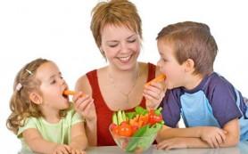 Как нужно питаться ребенку весной