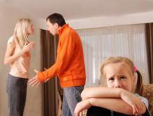 Развод родителей и детский вопрос