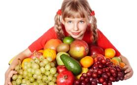 Отсутствие фруктов и овощей в рационе детей чревато проблемами в поведении