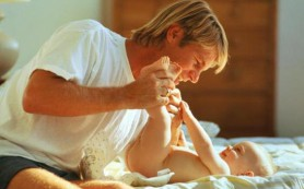 Эмоциональная связь детей со своими папами