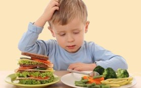 Дети не любят здоровую пищу, и это естественно