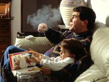 Заядлые курильщики признаны плохими родителями