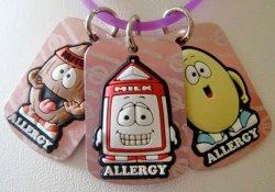 Симпатичные браслетики предупредят о наличии у ребенка аллергии
