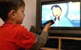 Почему телевизору не место в детской
