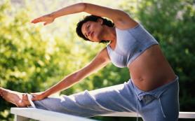 Лишний вес во время беременности приводит к детской тучности