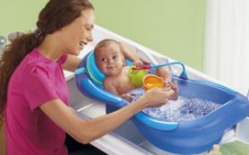 Как проводить водные процедуры для малышей