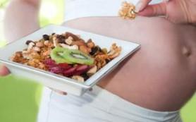 Как правильно питаться в первом триместре беременности