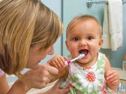 Зубная паста для малыша