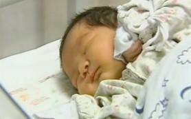 В Китае родился младенец-гигант