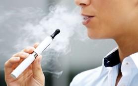 Среди детей модны электронные сигареты