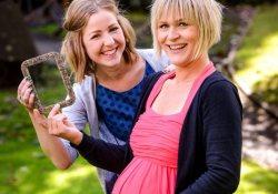 Дикий тренд: рамки для фото детей из плаценты матерей