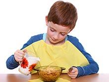 Завтрак помогает школьнику развить навыки решения задач