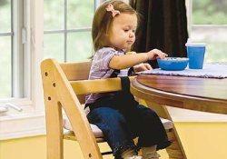 Осторожно! Высокие детские стульчики травмоопасны
