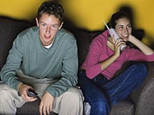 Длительной просмотр телевизора вредит мозгу детей и подростков