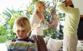 Мозг ребенка страдает от семейных ссор