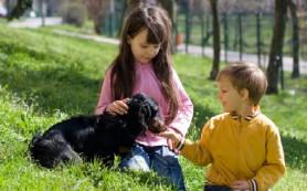Нужно ли детям домашнее животное