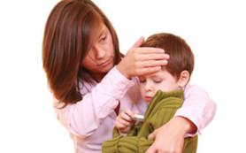 Как снизить температуру тела у ребенка