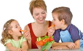 Здоровая еда и здоровый ребенок: связь доказана