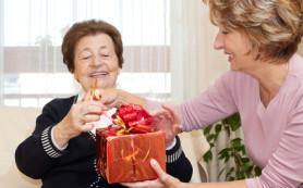 Выбор подарка для мамы