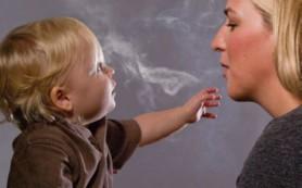 Пассивное курение делает детей умственно отсталыми