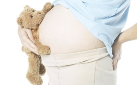 Размеры ребенка в период развития в утробе матери