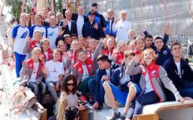 Ребят, поплывших под парусами вокруг Европы, напутствовал в Польше мэр Смоленска