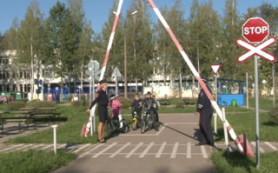 В Смоленском «Автогородке» прошли занятия по правилам дорожного движения для младших школьников