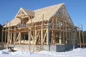 Дома из деревянного бруса, быстровозводимые – каркасные эконом-класса