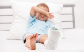 Ибупрофен предпочтительнее при детских переломах