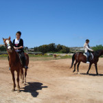 В Тюмени открылся клуб лечебной верховой езды для детей с аутизмом