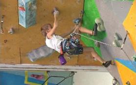 В Смоленске прошло первенство города по скалолазанию среди детей
