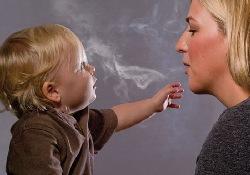 Для грудных младенцев пассивное курение — смертельная опасность
