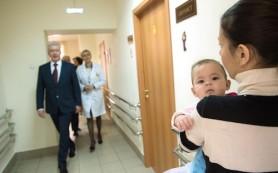 Собянин заявил о рекордной рождаемости в 2014 году