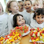 Призы помогают детям выбирать здоровую пищу