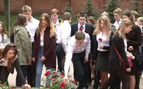 В рамках патриотической акции школьники из Москвы приехали в Смоленск