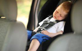 Сон в автокресле вреден для дыхания детей