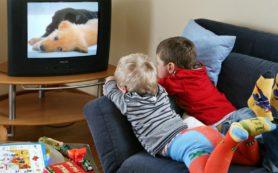 Телевизор тормозит умственное развитие детей