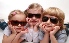 Детям необходимы солнечные очки