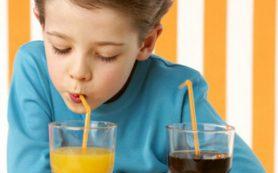 Газировка может оставить ребенка без зубов