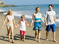 Родители, ведущие активный образ жизни, подают детям хороший пример, говорят ученые