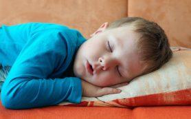 Детский храп может вызвать серьезные проблемы со здоровьем