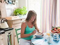 Вегетарианская диета во время беременности увеличивает риск преждевременных родов