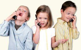 Мобильник может быть причиной гиперактивности ребенка