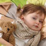 Болезни ребенка идут на пользу детскому организму